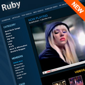 Ruby Theme for PHP Melody - Product Thumbnail